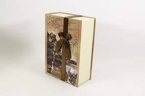 Coffret en carton collection